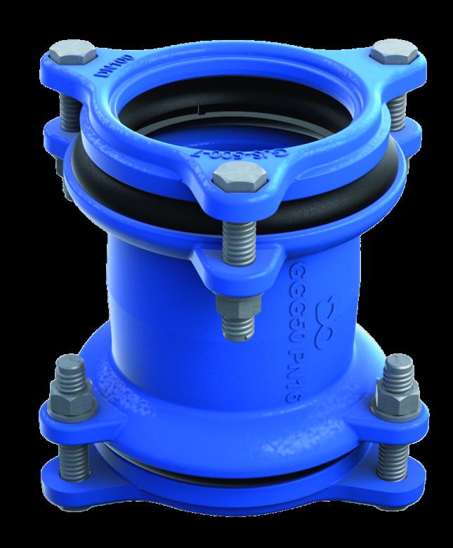 Universal pipe coupling RU