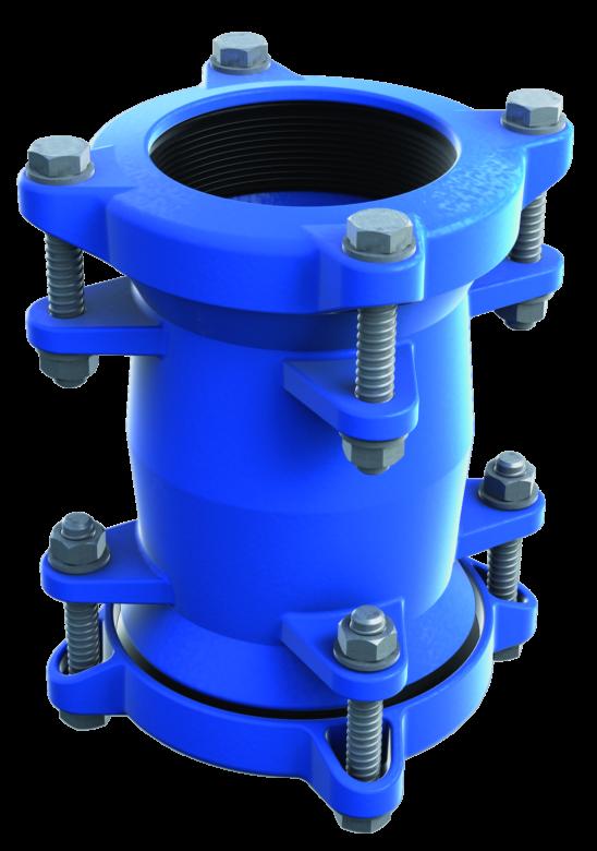Universal pipe coupling NPU