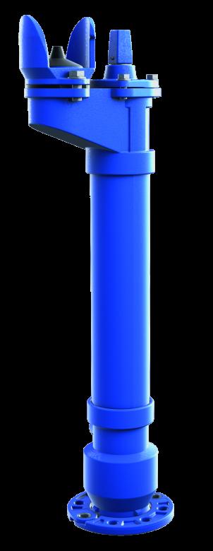Hydrant podziemny DN80                                                       z podwójnym lub pojedynczym zamknięciem