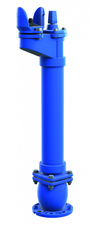 Hydrant podziemny DN80                                                      z podwójnym zamknięciem kulowym