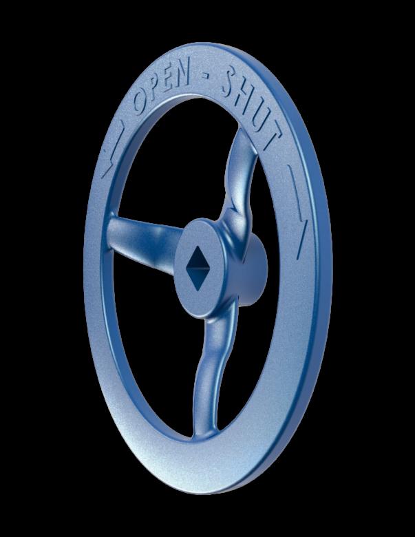 Handwheel for gate valve