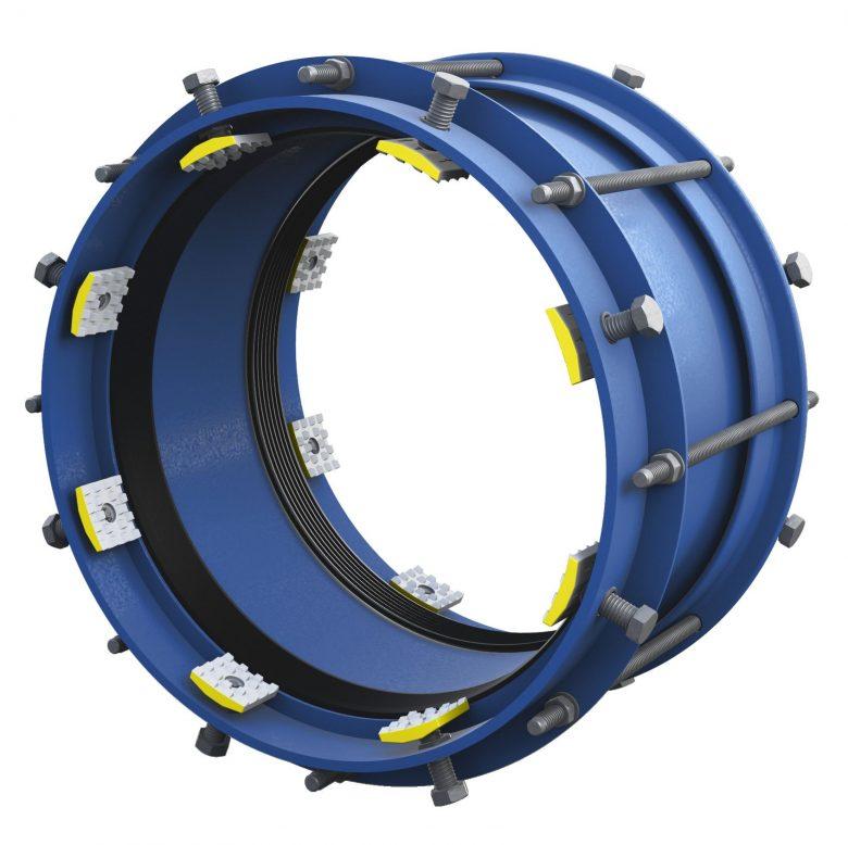 Łącznik rurowy stalowy z zabezpieczeniem RRS-E