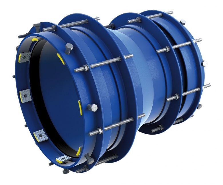 Łącznik rurowy stalowy redukcyjny z zabezpieczeniem RRS-R-E