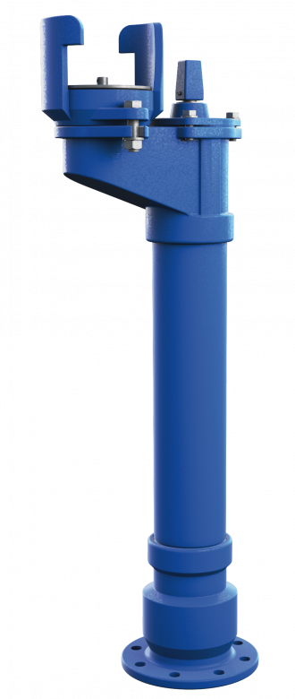 Underground ductile iron hydrant DN80 double or single closing