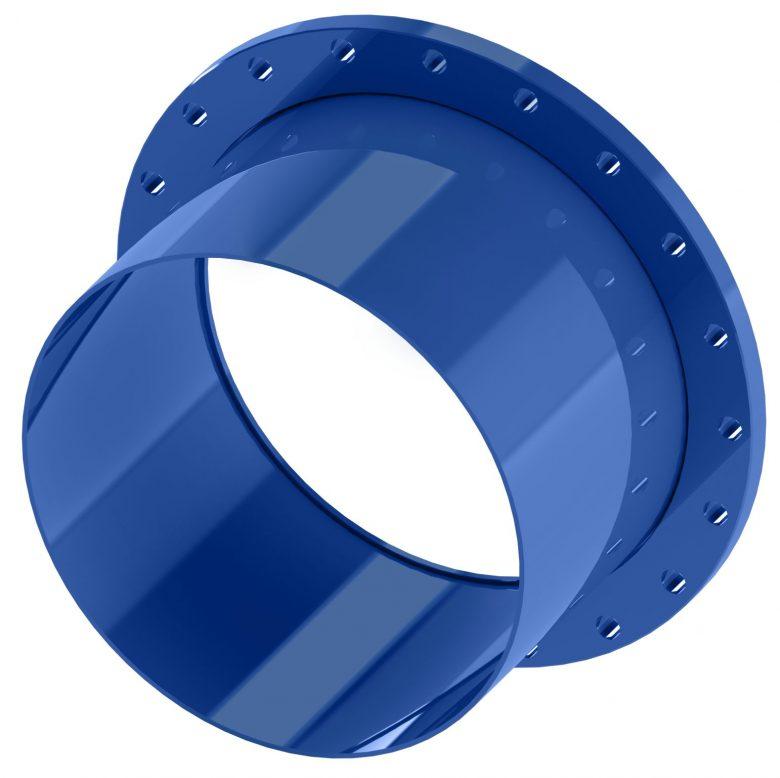 Single flange steel spigot FS